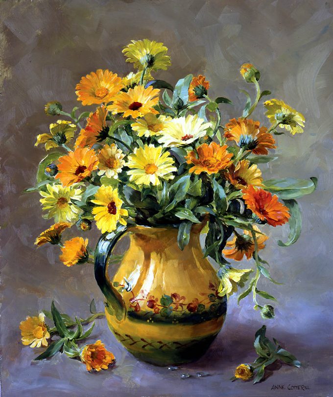 Marigolds. Limited Edition Print LE-072