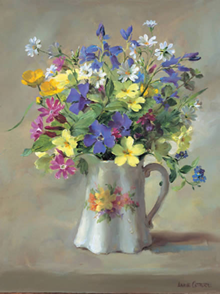 Wild Flowers In The Victorian Jug