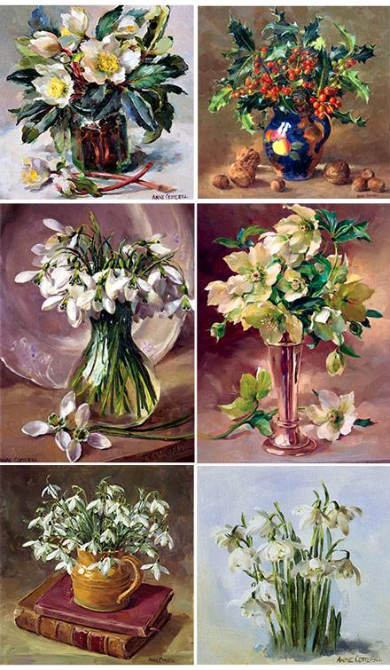Anne Cotterill Christmas Cards - Set No.2