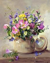 Anne Cotterill Birthday Card - Summer Wild Flowers