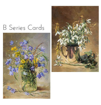 New B Series Flower Cards 2018