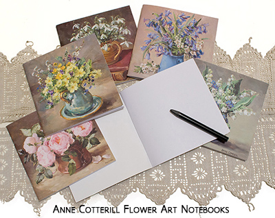 Anne Cotterill Flower Art Notebooks