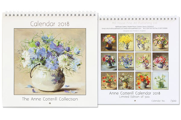 Limited Edition Anne Cotterill Calendar 2018